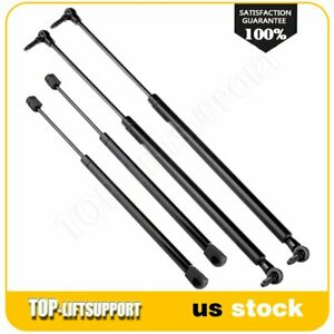 2 Tailgate Hatch 2 Window Lift Supports Struts For 05 10 Jeep Grand Cherokee