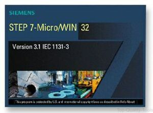 Step 7 Micro win Software V4 Plc Programming Software Simatic S7 200 1 User