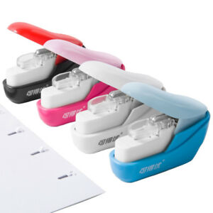 Office Machine Student Gift Staple free Stapler 5 Sheets Paper