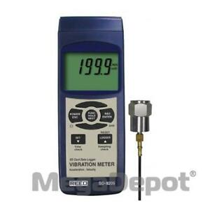 Reed Sd 8205 nist Sd Series Vibration Meter Datalogger W Nist Certificate