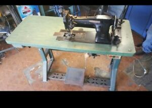 Singer Commercial Industrial Sewing Machine With Table Singer Machine