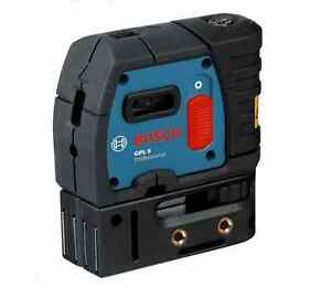 Bosch Gpl 5 Professional 5 point Self Leveling Alignment Cross line Laser