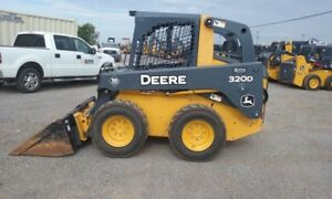 2013 John Deere 320d Skid Steer Loaders