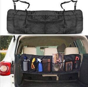 Car Seat Back Storage Organizer Interior Multi Use Multi Pocket Bag Accessory B