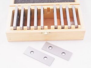 Hhip 3900 3012 10 Pair 1 8 Precision Parallel Set 1 8 X 3 Wooden Case