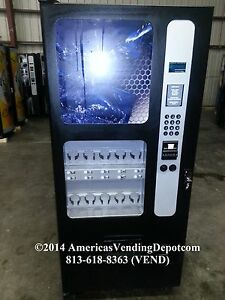Usi Bc 10 Can Bottle Cold Drink Vending Machine like New Warranty Delivery