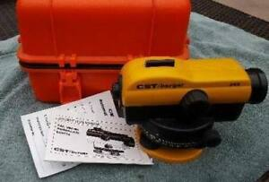 Cst Berger 24x Magnification Automatic Optical Sight Level Tool In Case