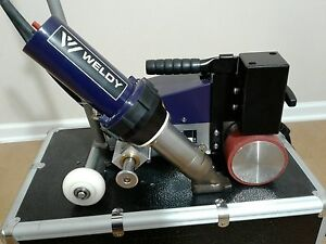 Weldy Roofer Hot Air Welder Robot Made By Leister Similar Varimat V2 Bak Roofon