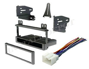 95 2010 Ford Complete Install Kit Car Stereo Dash Kit Wire Harness Mount