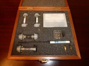 Agilent Hp V11644a 50 To 75 Ghz Wr15 Waveguide Mechanical Calibration Kit