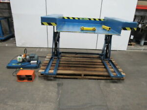 Vestil lift Ground Lift Table 48 dx44 w 115v 36 Lift 1000lb Cap