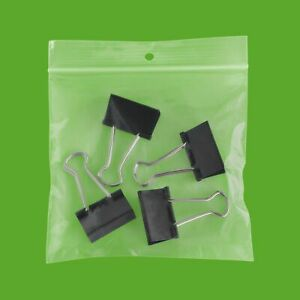4000 5x5 Hanghole Bags Clear 2mil Small Poly Bag Reclosable Bags Plastic Baggies