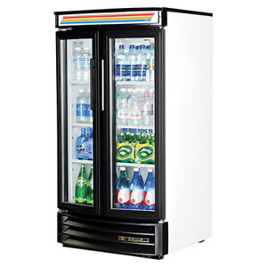 True Glass Door Gdm 14rf ld Cooler Merchandiser Free Shipping