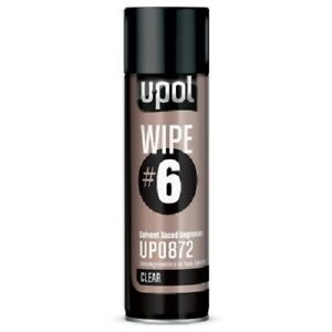 U pol Up0872 Wipe 6 Solvent Based Clear Degreaser aerosol Can