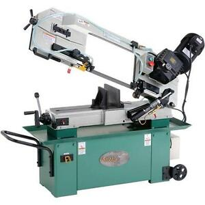 G9743 Grizzly 7 X 12 Geared Head Metal cutting Bandsaw
