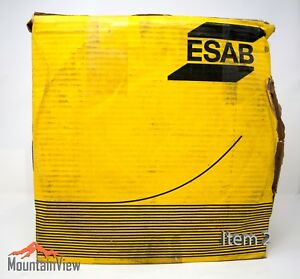 Esab Cryo shield 308l Stainless Flux Core Mig Welding Wire 0 045 33lb Spool