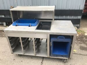 Stainless Steel Counter Table 148 Catering Buffet Food Truck Send Best Offer