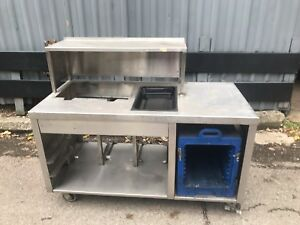 Stainless Steel Counter Table 152 Catering Buffet Food Truck Send Best Offer