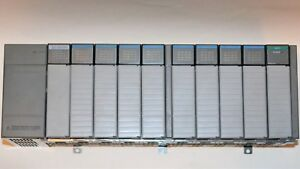 Ab Slc 500 01 10 Slot Rack 4 Dc 16 In 4 Dc Sink Out 1 Analog Input