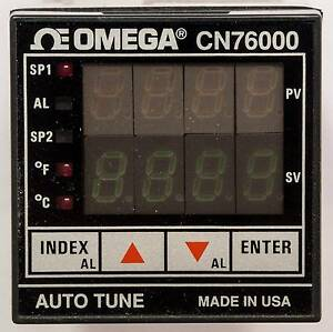 New Omega Microprocessor based Temperature process Controller Cn76000 Cn76030