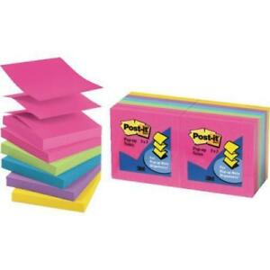 Post it 3 X 3 Pop up Nts pkg Of 12