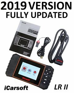 Land Rover Jaguar Diagnostic Scanner Tool Airbag Abs Brake Reset Icarsoft Lrii