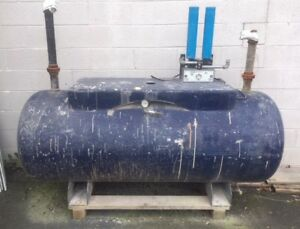 Horizontal Air Tank 240 Gallon Mawp 200 Psi As Is W Regen Desicant Dryer