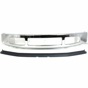 New Kit Bumper Face Bar Front F250 Truck F350 Chrome Fo1002406 Fo1093114 Ford