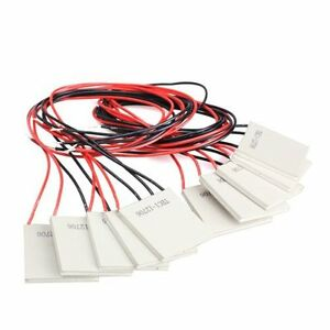 10pcs Tec1 12706 Thermoelectric Cooler Heat Sink Cooling Peltier 12v 5 8a
