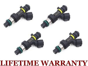 4x Genuine Jecs Fuel Injectors For 07 10 Nissan Sentra Versa 09 10 Cube 1 8 2 0l