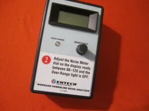 Monster Power Entech Wideband Powerline Noise Analyzer Nh 161 for Parts As Is