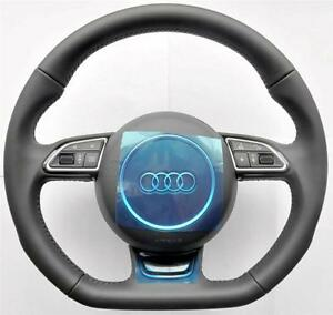 New 2016 Audi S Line A6 S6 Rs6 A7 S7 Rs7 A8 S8 Flat Bottom Sports Steering Wheel
