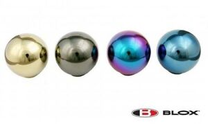 Blox Shift Knob Limited 490 Spherical Neo Chrome For Accord S2000 Civic Integra