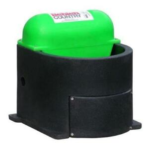 Behlen Country Horse Companion Heated Waterer Black Green