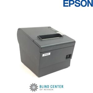 Epson Tm t88iv M129h Pos Thermal Receipt Printer Usb No Power Supply