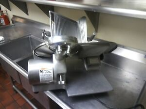 Globe 12 Chefmate Gc512 Manual Electric Food Slicer 1 3 Hp 115 Vdc From Poland