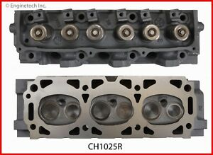 Cylinder Head W Valves Springs Fits 86 99 Ford Mercury Mazda 3 0l V6 Vulcan
