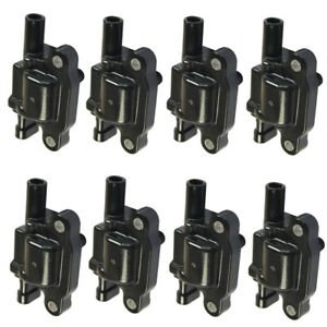 New Ignition Coil Pack Of 8 For Chevrolet Gmc V8 U 12611424 12570616 C1511 F 413
