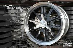 17x7 American Racing 427 Shelby Cobra Wheels Ford Mustang Mopar Merc 5 On 4 5