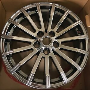 Range Rover Sport 19 Bright Chrome Pvd Factory Wheels Rims Set 2013 2018 72220