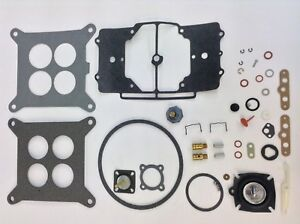 Autolite 4100 Shoebox Carburetor Kit 1958 1969 Ford Hipo Mustang Complete Kit