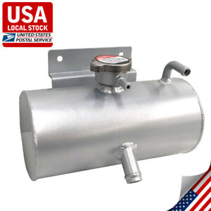 1 5l Universal Aluminum Overflow Coolant Expansion Tank Bottle