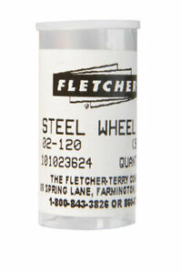 Fletcher 1 8 In L Steel Single Edge Glass Cutting Wheel 10 Pc