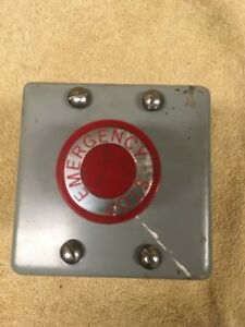 Austin Panel Enclosure 4 12 With Series D1 Emergency Stop