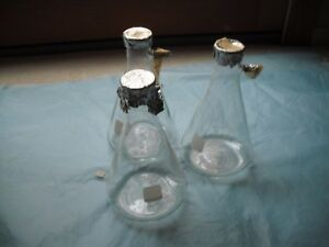 Pyrex No 5340 Filter Flask 1000 Ml lot Of 3