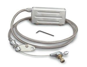 Lokar Hi Tech Stainless Transmission Kickdown Cable Kit Gm Th400 Kd 2400ht