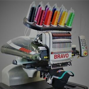 Melco Bravo Package A 16 Needle Embroidery Machine Financing Available