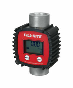 Full rite In line Digital Meter 145 Psi 3 26 Gpm 6 625 In W X 2 875 In L
