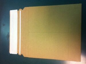 200 Pcs 6 1 4 Eco Friendly Cardboard Cd Dvd Mailers Js92eco