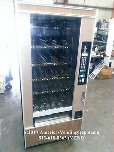 Crane National 148 4 Wide Dual Coil Snack Machine Local Delivery